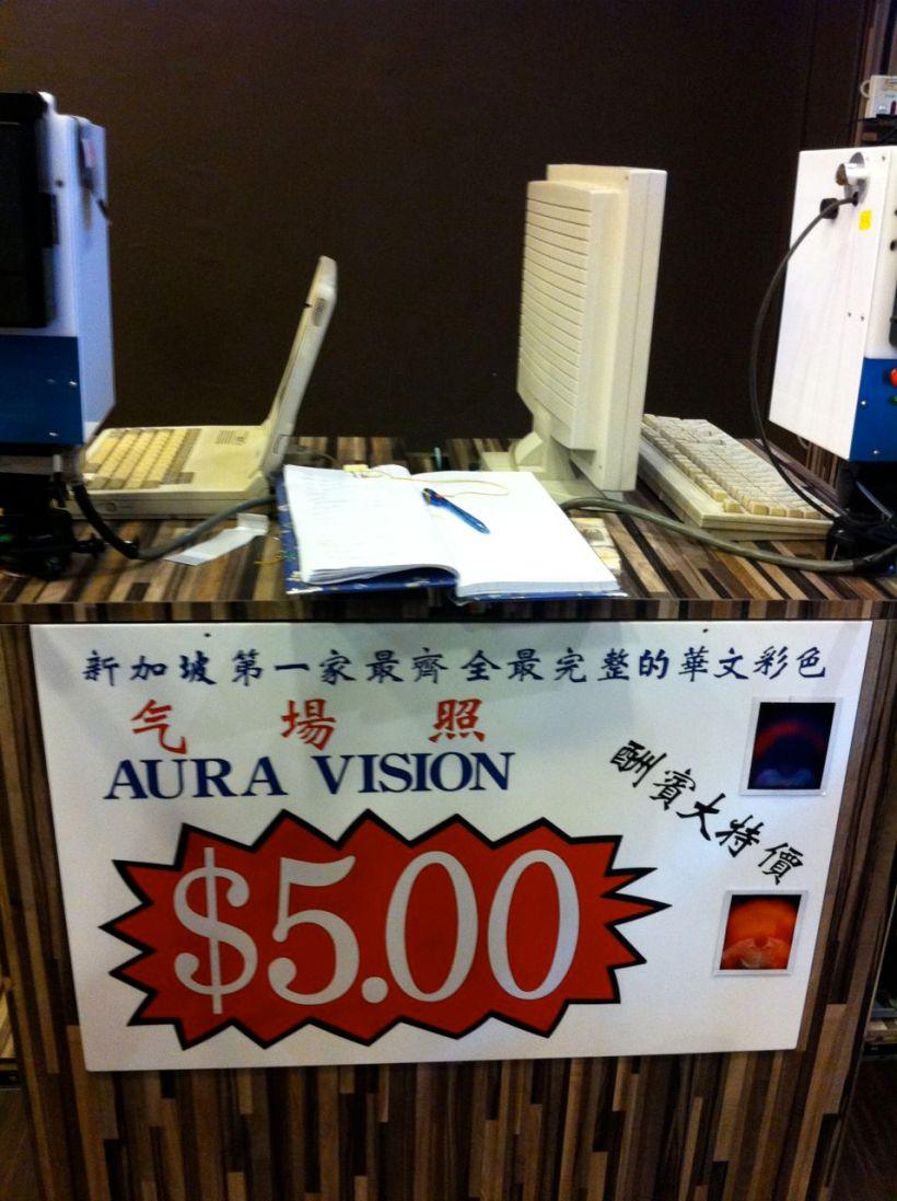 Aura Vision. $5. Kang Li Crystals at Fu Lu Shou Complex