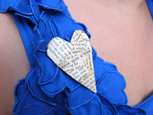 My lovely handmade brooch