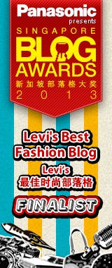 Singapore Blog Awards 2013 Best Fashion Blog Finalist