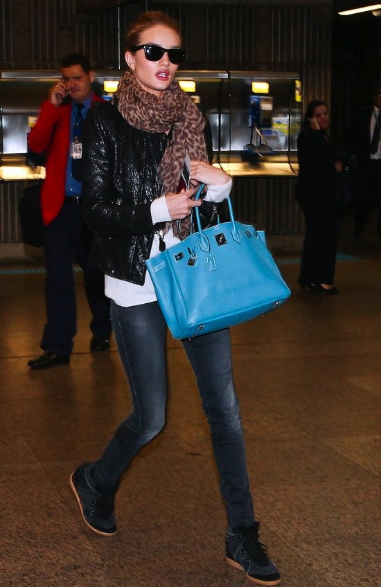 Rosie-Huntington-Whiteley-in-Isabel-Marant-Betty-Hi-Top-Sneakers-Hermes-bag2