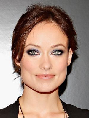 olivia-wilde-blue-shimmery-eyeshadow